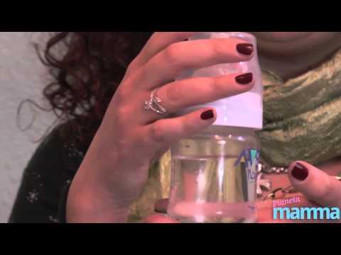 Biberon con latte in polvere: ecco come si prepara