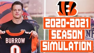 Cincinnati Bengals 2020-2021 Season Simulation (Madden With Updated Rosters)