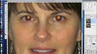 Photoshop Red Eye Fix for Difficult Cases - People and Pets