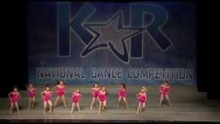 Great 7 year old jazz dance