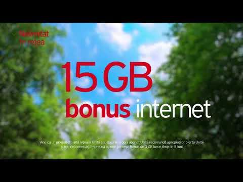 Vino cu prietenii în reţeaua Unite şi primiţi fiecare câte 15 GB BONUS. Promo toamna 2018