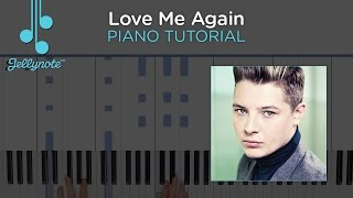 love me again piano chords - TH-Clip