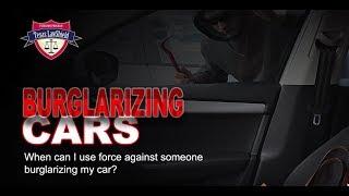 TX Burglarizing Cars