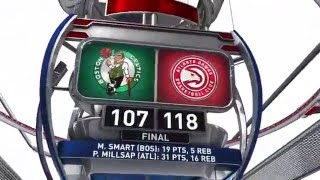 Boston Celtics vs Atlanta Hawks | April 9, 2016 | NBA 2015-16 Season