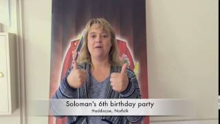 Soloman's 6th birthday party