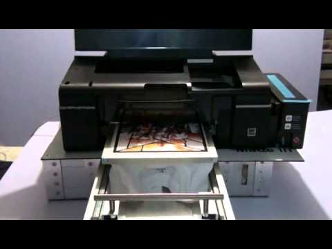 IMPRESORA L800 CAMA PLANA IMPRIME PLAYERAS Y TEXTILES OSCUROS Y CLAROS DTG PRINTER EPSON L800
