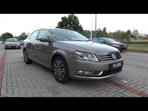 2011 Volkswagen Passat TSI Start-Up and Full Vehicle Tour