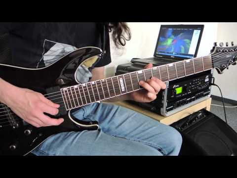 Jason Melidonie: Dream Theater - Overture 1928 Guitar Cover