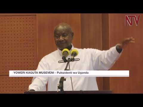 OKULWANYISA OBWAVU: Museveni alabudde abavubuka ku kwebaka ennyo