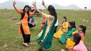 बिमला रे तेरे होटले। पहाडी़ डांस।Beautiful pahadi dance at chakrata jaunsar |