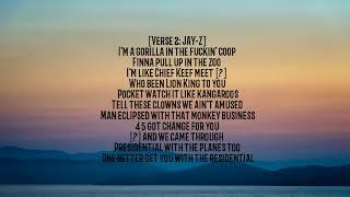 APES**T - THE CARTERS - lyrics [ Official Song ] Lyrics / lyrics video