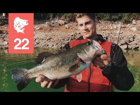Tyskerne fisker black bass på Sardinien - Genau