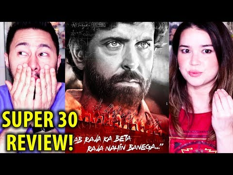 SUPER 30 | Hrithik Roshan | Movie Review by Jaby Koay & Achara!