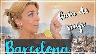 Barcelona, que ver y que hacer en un día por una local.