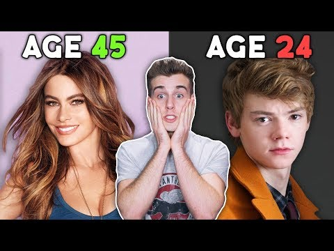 Guess The Celebrities Age Challenge!