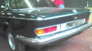 BMW 2800 cs restauro old timer