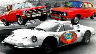 Иностранные автомобили в СССР. История иномарок в СССР