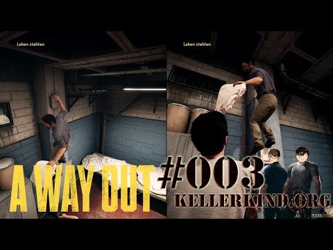 A Way Out #3 – Ab geht's an die Wäsche ★ Let's Play Together A Way Out [HD|60FPS|Co-Op]