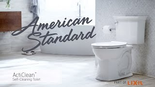 Watch ActiClean Self-Cleaning Toilet from American Standard