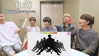 (ENG SUB)[GoToe VS NCT 127] GUESS THE SILHOUETTED CHOREOGRAPHY