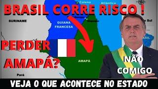 BOLSONARO ESTÁ INTEGRANDO AMAPÁ AO BRASIL