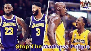 Shaq & Kobe vs Lebron & AD No Comparison