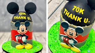 Mickey Mouse Cake | Fault Line Cake