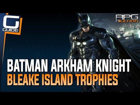 Batman Arkham Knight: Bleake Island's Most Annoying Riddler Trophies
