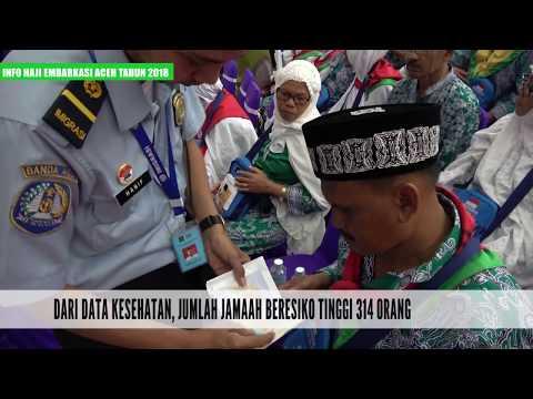 Informasi Haji Kloter 01 Embarkasi Aceh Tahun 2018