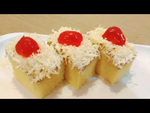 Video Resep Cake Kukus yang Moist dan Soft | Tips mengukus Cake agar tidak bergelombang.
