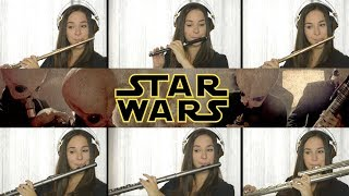 Star Wars Cantina Band on Flute + Sheet Music!