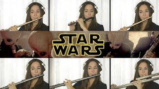 Star Wars Cantina Band on Flute + Sheet Music!