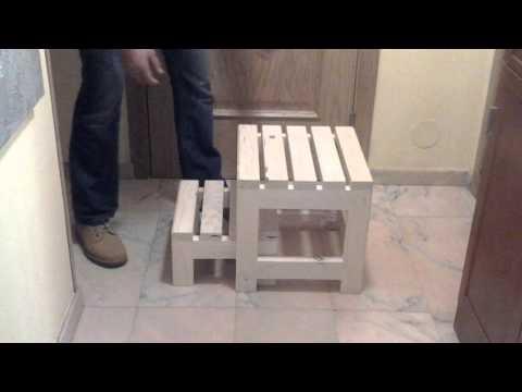 Taburete/escalera