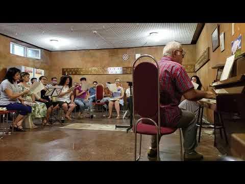 Yerevan State Chamber Choir - Rehearsal (July 25, 2019)