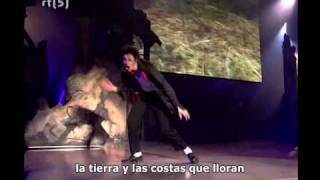 Michael Jackson - Earth Song Live (Subtitulado Español)