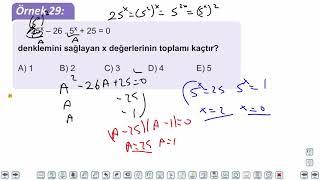 Eğitim Vadisi TYT Matematik 48.Föy İkinci Dereceden Bir Bilinmeyenli Denklemler 2 Konu Anlatım Videoları