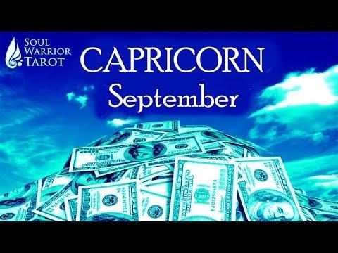 🍀CAPRICORN MONEY SEPTEMBER 2019 CAREER READING 🍀Soul