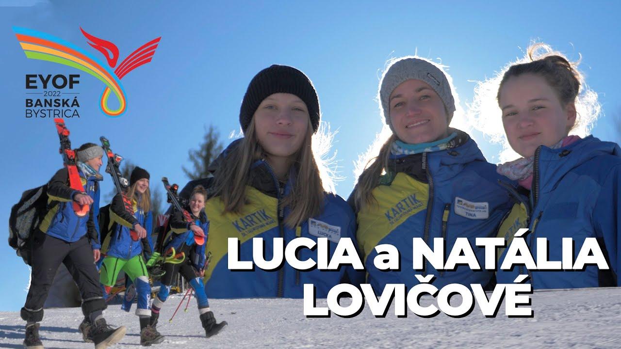 Ži zdravo s EYOF 2022 Banská Bystrica | Lucia a Natália Lovičové