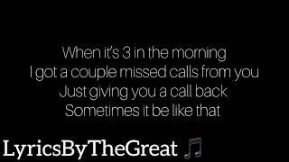 Yung Bleu   Be Like That Lyrics | LyricsByTheGreat