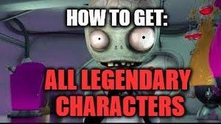 Plants vs Zombies Garden Warfare 2 - How To Get Legendary Characters Easily