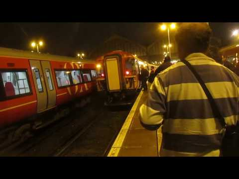 The final Class 442 in normal service with Southern 10th Mar…