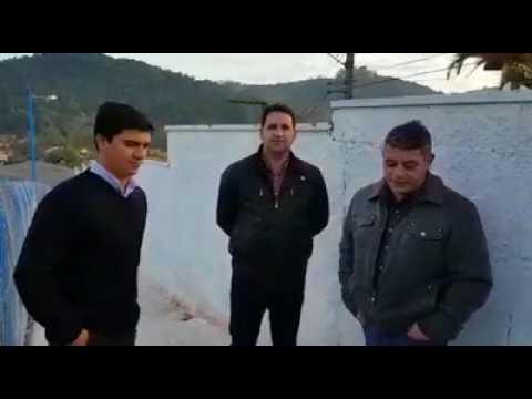 Prefeito Arizinho de São Lourenço da Serra fala sobre a inauguração da Nova rampa de acesso da Escola Maria Nėrea e sobre o novo sistema de transporte Escolar São Lourenço da Serra