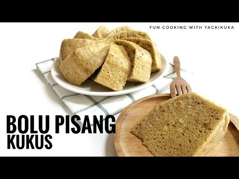 ANTI GAGAL BOLU PISANG KUKUS * BANANA STEAM CAKE