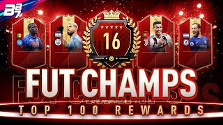 16TH IN THE WORLD FUT CHAMPIONS REWARDS! RED IF PLAYER PICK PACKS! | FIFA 19 ULTIMATE TEAM