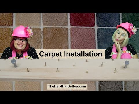 How To Install Carpet On Concrete Floor