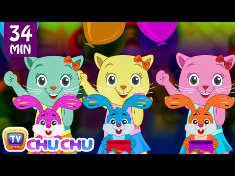 Three Little Kittens Went To The Fair   Nursery Rhymes by Cutians   ChuChu TV Kids Songs