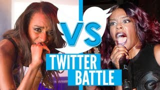 "Azealia Banks vs Angel Haze: ""On The Edge"" Diss Track & Twitter Feud"