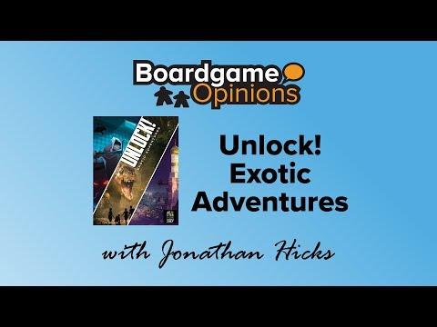 Boardgame Opinions: Unlock! Exotic Adventures