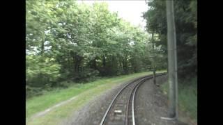 preview picture of video 'Führerstandsmitfahrt in der Straßenbahn von Bochum nach Witten Heven Dorf, tram cabe ride'