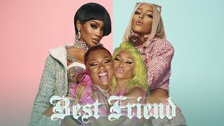 Saweetie - Best Friend (feat. Doja Cat, Nicki Minaj & Megan Thee Stallion) [MASHUP]